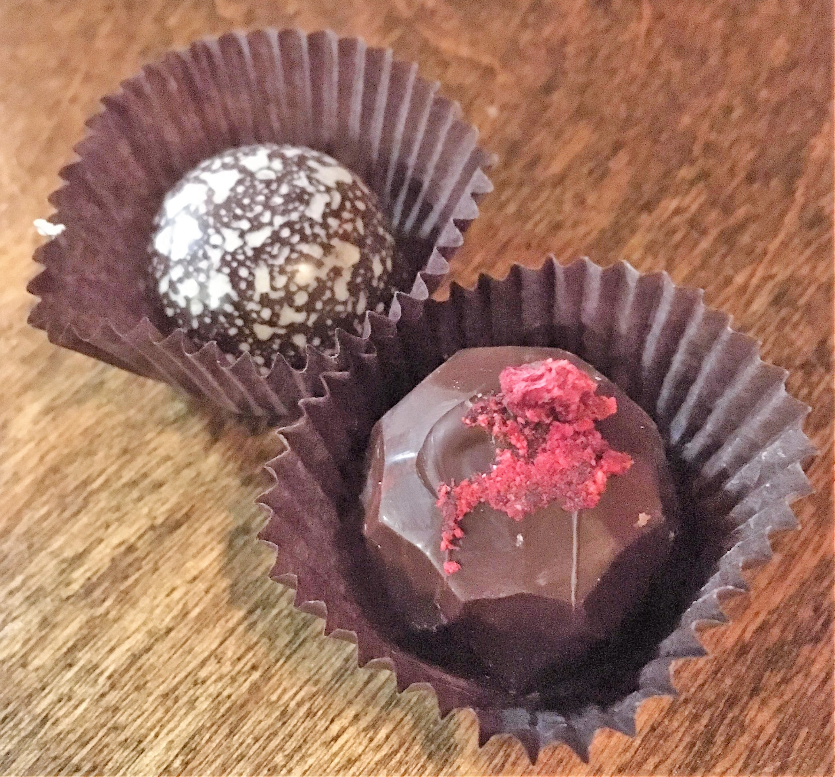 Tempered Cafe truffles